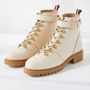 NWT • Urban Outfitters • Jessa Leather Hiker Boots